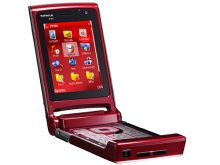 Nokia N76 3G Gsm Un-locked Quad-band (RED)